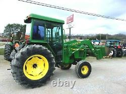 John Deere 5410 Tractor & Loader 81HP CAB AC FREE 1000 MILE DELIVERY FROM KY