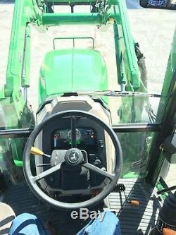 John Deere 6130 D 4X4 Cab Tractor