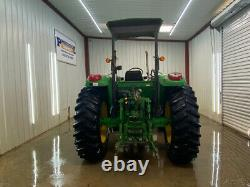 John Deere 6215 4x4 Orops With Euro Connect, Hay Fork And Buket