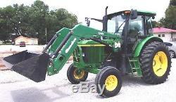 John Deere 6403 Tractor Cab & Loader 98 HP Can Deliver @ $1.85 per mile