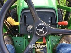 John Deere 755 4X4 With Quick Attach Loader And Mower