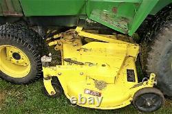John Deere 755 Diesel 4X4 Tractor with 60 Deck Mows Grass DECK IS VERY NICE