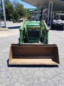 John Deere 870 4x4 Tractor/Loader/Backhoe