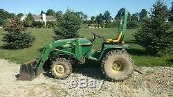 John Deere 955 4x4 Compact Diesel Tractor & 70A Front Loader