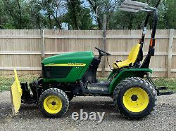 John Deere Tractor 4010 HST 67 Hours Excellent Condition 4WD Dual PTO