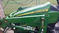 John deere 1023e tractor 2007