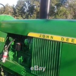 John deere 4020 Diesel-1970 model