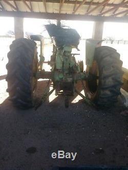 John deere 4020 diesel tractor