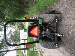 John deere 4100 Diesel 4X4 60 mower deck Loader 3 pt hitch HYDROSTATIC 770 HRS