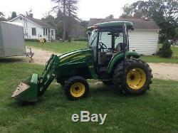 John deere 4720 cab tractor