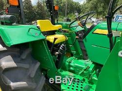 John deere 5075e 4x4 tractor loader