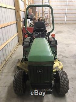 John deere 655 tractor