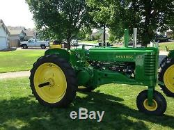 John deere AN with official serial # document