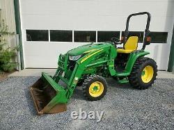 John deere compact 3033R loader tractor 4wd diesel