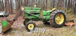 John deere tractor 20 20 with loader