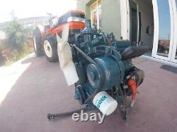 KUBOTA / D722 ENGINE / 3 Cylinders 0.719cc 18HP