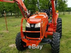 KUBOTA L2501 4x4 loader tractor. FREE DELIVERY