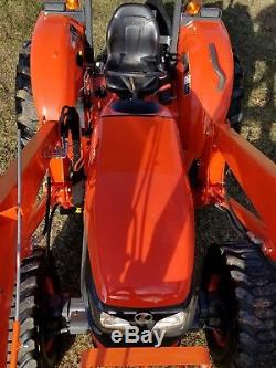 KUBOTA M5660 4x4 loader tractor. WARRANTY, FREE DELIVERY