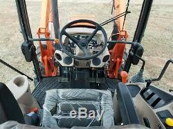 KUBOTA M7060 4x4 loader tractor 71hp cab tractor hydraulic shuttle farm tractor