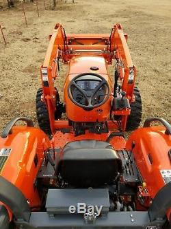 KUBOTA MX5100 4x4 loader tractor. Hydraulic box blade! FREE DELIVERY