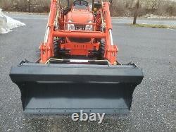 Kioti CK2510 HST tractor loader KL2510 60mower deck used 4x4 diesel compact