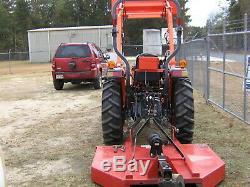 Kubota 3800 Diesel Tractor With 5ft Kodiak brushog