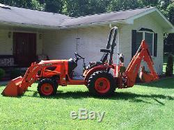 Kubota B 2320 hydro, 4x4 Diesel, Loader, Backhoe, good conditon low 367 hrs