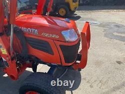 Kubota B2320 DIESEL 4X4, HEAT, KUBOTA LOADER and Snow Plow, 3 POINT HITCH, PTO