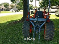 Kubota B3300 tractor 4x4 used 2010