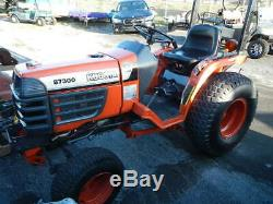 Kubota B7300 4x4 Compact Tractor Diesel 3 point hitch