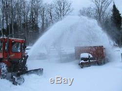 Kubota B7610 Tractor 4x4 Loader Cab New Snowblower