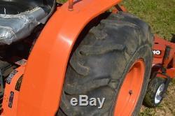 Kubota B8200 4x4 diesel tractor