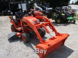 Kubota BX1860 54in Mower loader Utility Tractors
