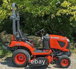 Kubota BX1880 with 54 Mower Deck ONLY 42 HOURS! 4wd, Power Steering 45701