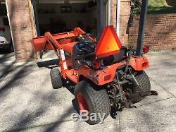 Kubota BX2200 Tractor with Loader. PLUS King Kutter (Bush Hog)