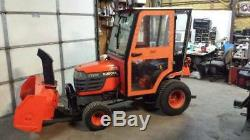 Kubota BX2200 Tractor with Snow Blower
