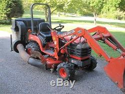 Kubota BX2200 Tractor withLA211 Loader