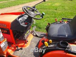 Kubota BX2230 Compact Tractor Loader RUNS MINT LOW HRS! 4x4 4WD Diesel PTO