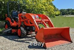 Kubota BX2350 with LA243 Loader & 54 Mower Deck Only 749 hours! Athens, OH