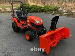 Kubota BX2360 Tractor, 60 Mower & 55 Snow Blower