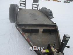 Kubota BX25D Farm Tractor, Loader, Backhoe with Trailer