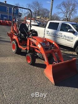 Kubota Bx25 Tractor With Loader And Backhoe