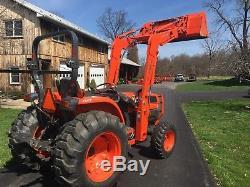 Kubota Grand L5030 Diesel Tractor, 50 HP, 4x4, GST Trans, Kub Loader, Excellent