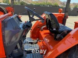 Kubota L-48 4x4 Loader With Backhoe, Only 800 Hours Since New 48hp, Ex La City