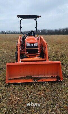 Kubota L2501 tractor 4x4 loader OBO 2017