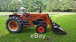 Kubota L260 tractor with loader