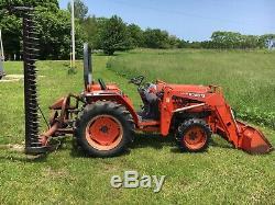 Kubota L3010 4x4 Loader Tractor