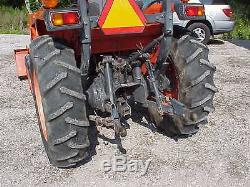 Kubota L3130 Tractor with Loader 4WD 32 hp diesel 3130 Hydrostatic Low Hours
