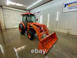 Kubota L3240 Hst With Cab, A/c And Heat, 3-point Arms, Pin On Bucket