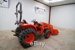 Kubota L3800 Tractor Loader Hst, 4x4, 30hp, Loader La524, Ready To Work